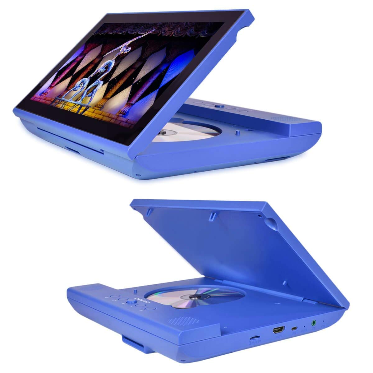 Digiland DL1001 2-in-1 Android Tablet + DVD Player - Core 1 3GHz 1GB 16GB  10 1 Touchscreen Tablet Android
